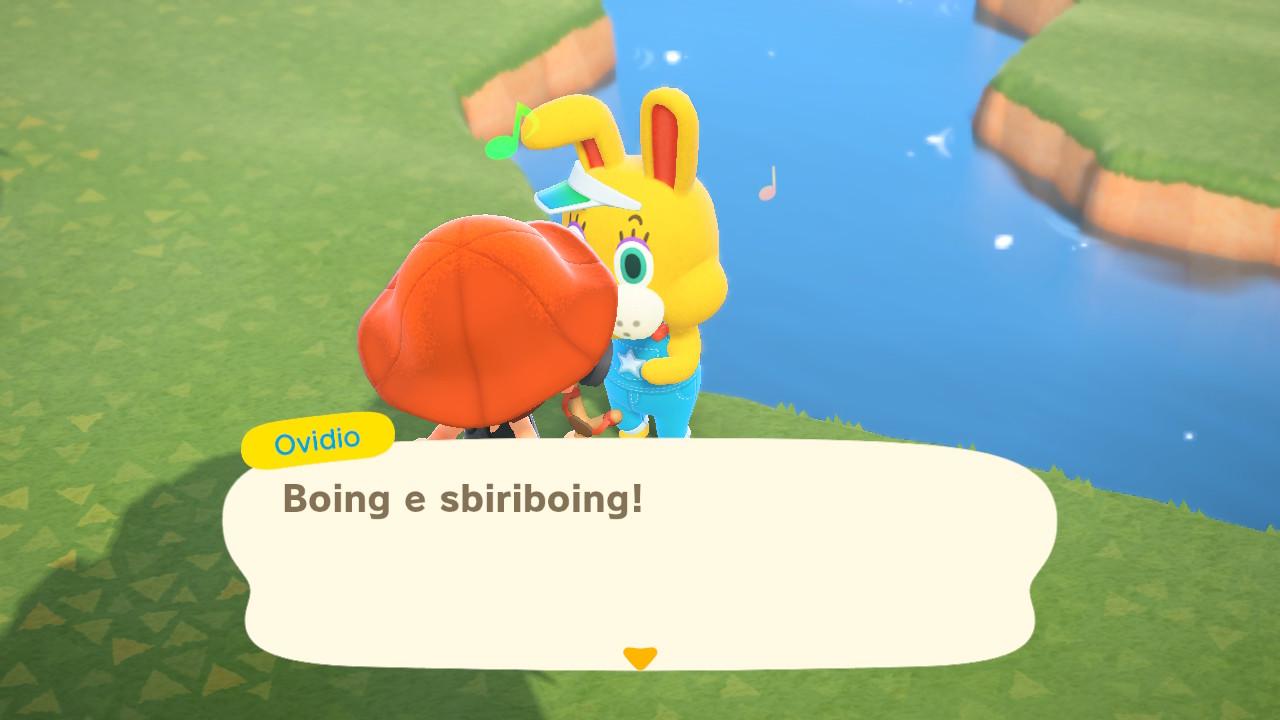 Animal Crossing New Horizon Ovidio Coniglio