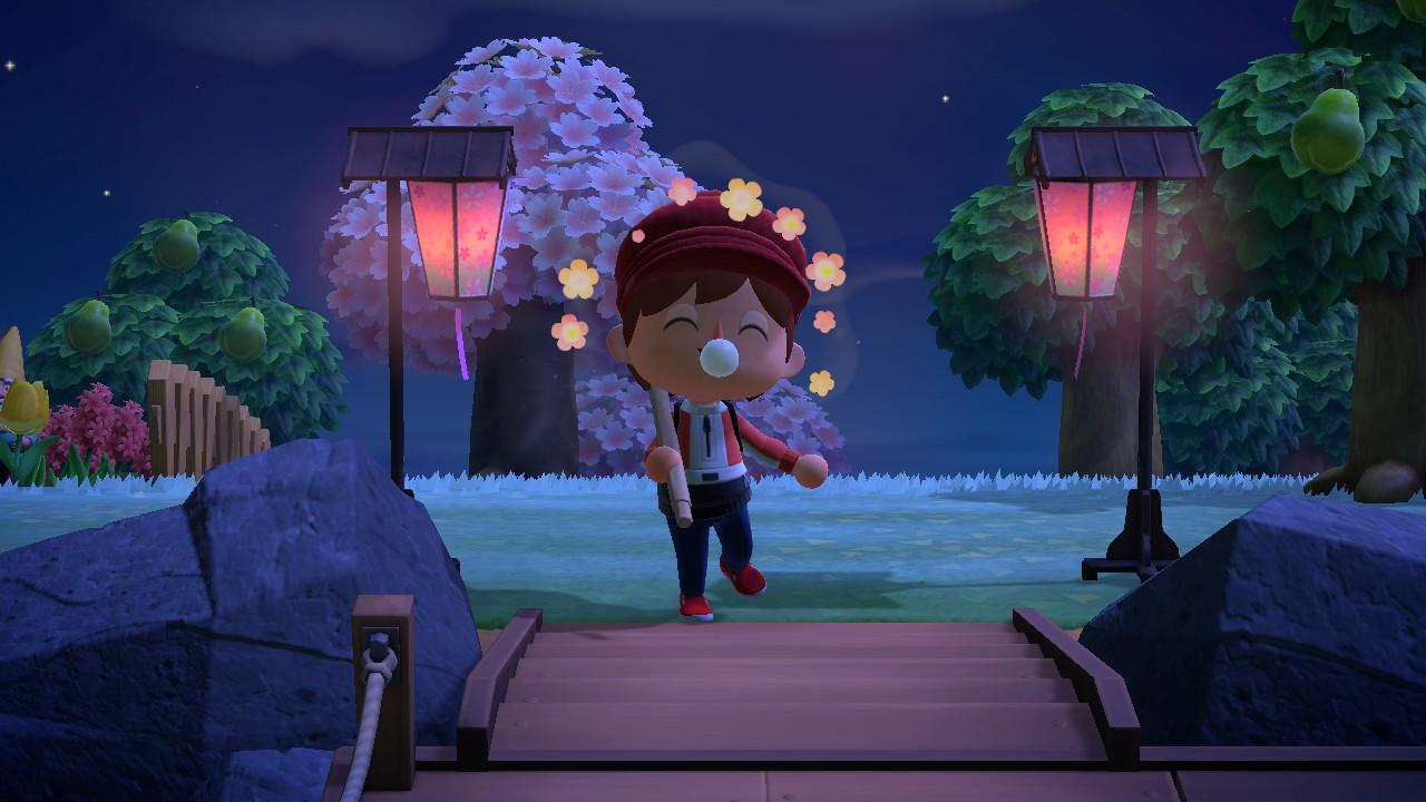 Animal Crossing New Horizon Lampade Ciliegio