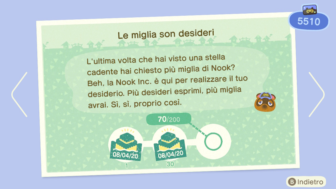 Animal Crossing New Horizons Miglia Nook