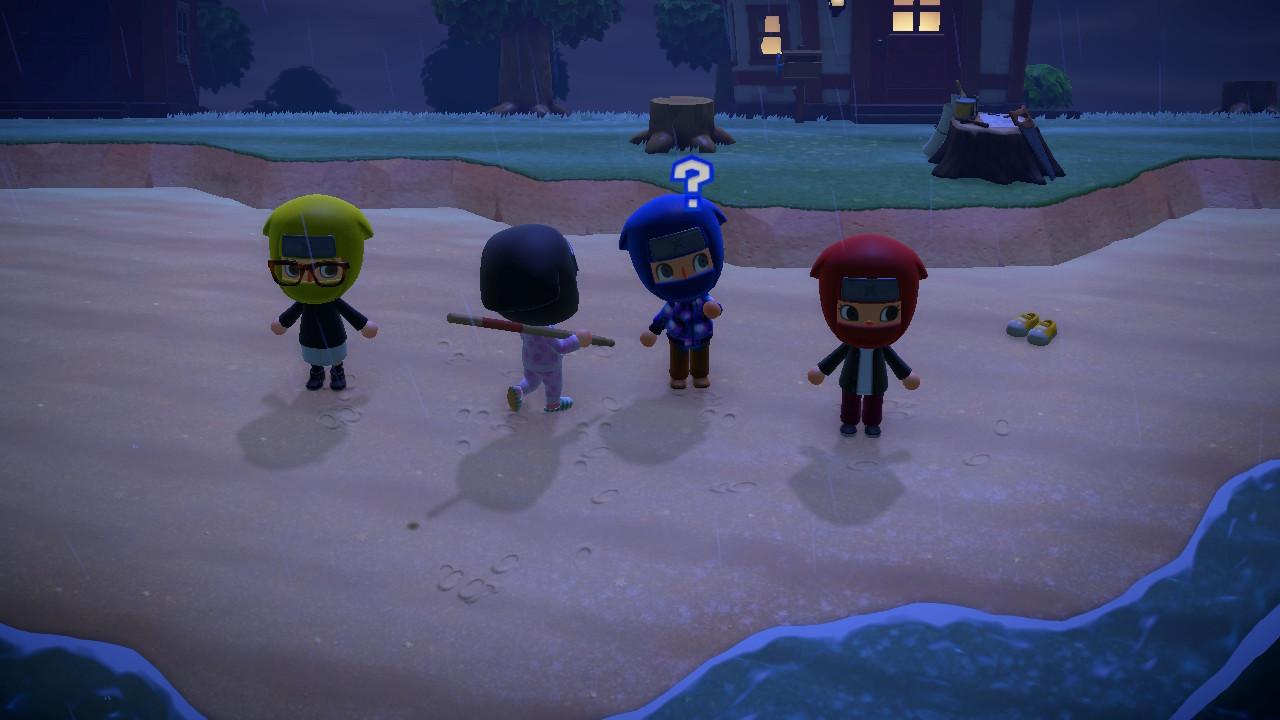 Animal Crossing New Horizon Multiplayer