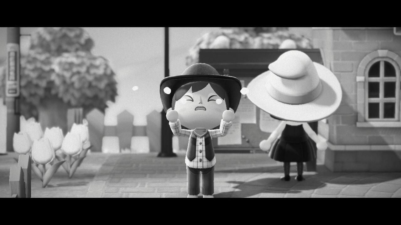Animal Crossing New Horizon Black and White