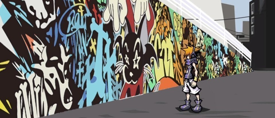 TWEWY The World Ends With You Murales