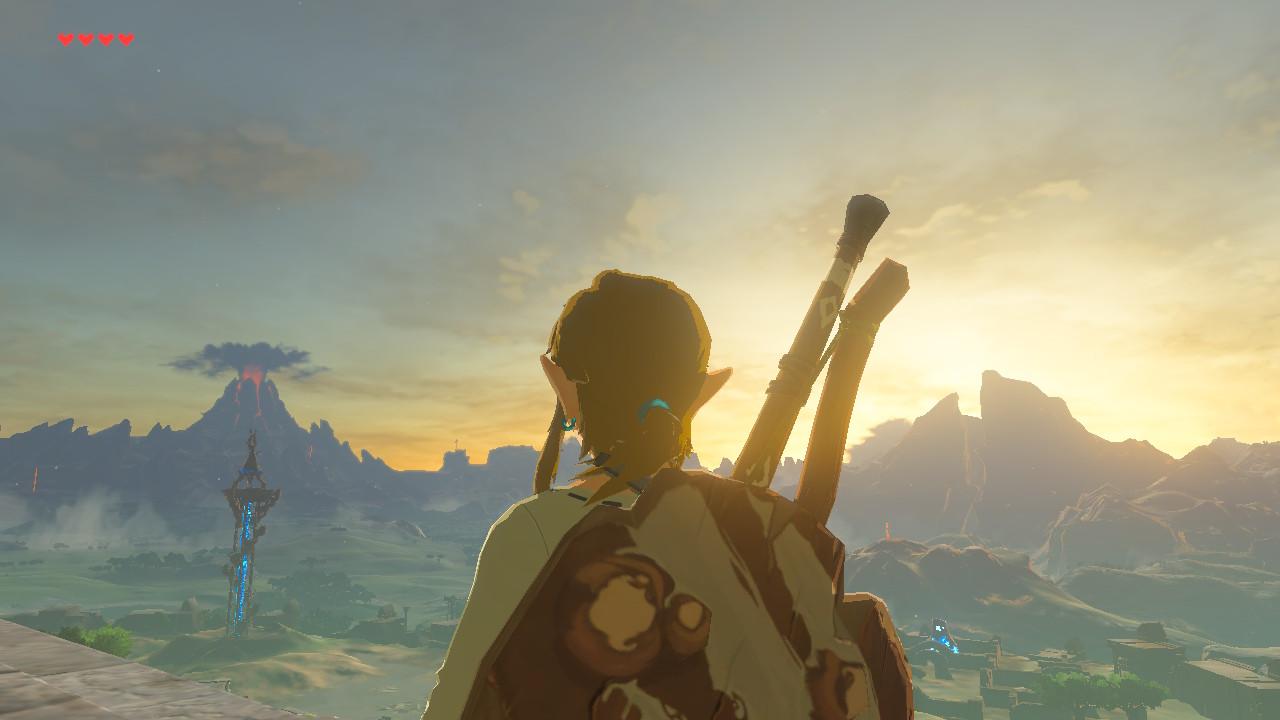 Zelda BOTW Header