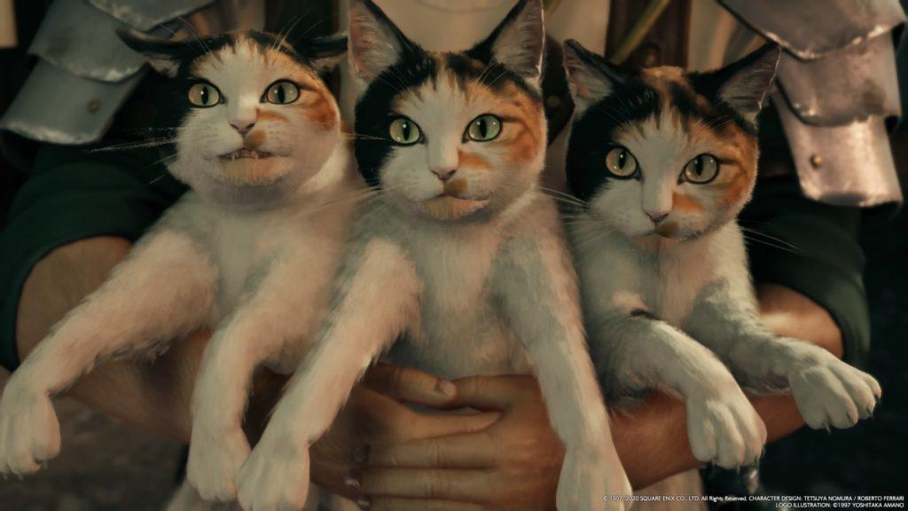 FINAL FANTASY VII REMAKE Cats