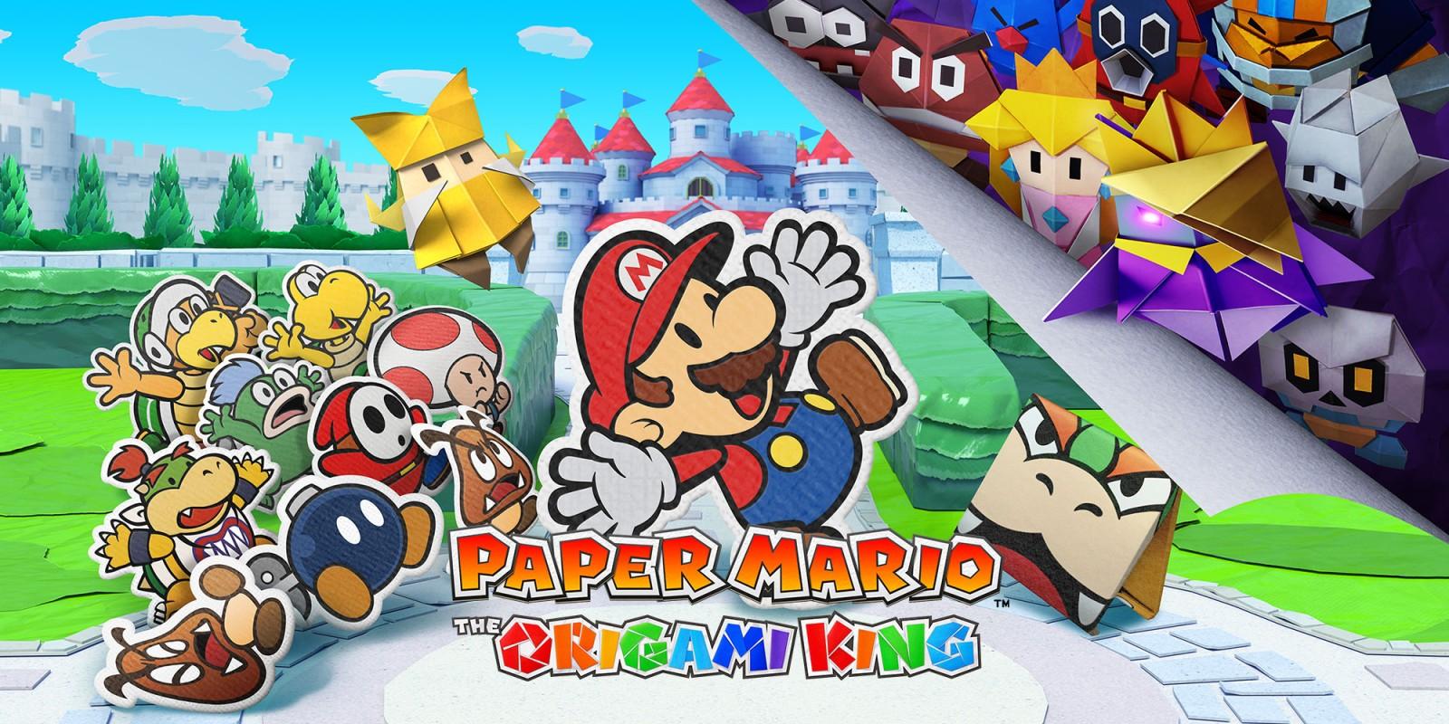 Super mario The origami king