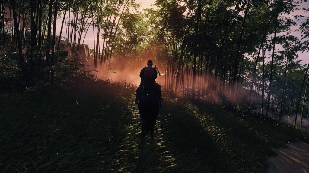 Ghost of Tsushima Forest