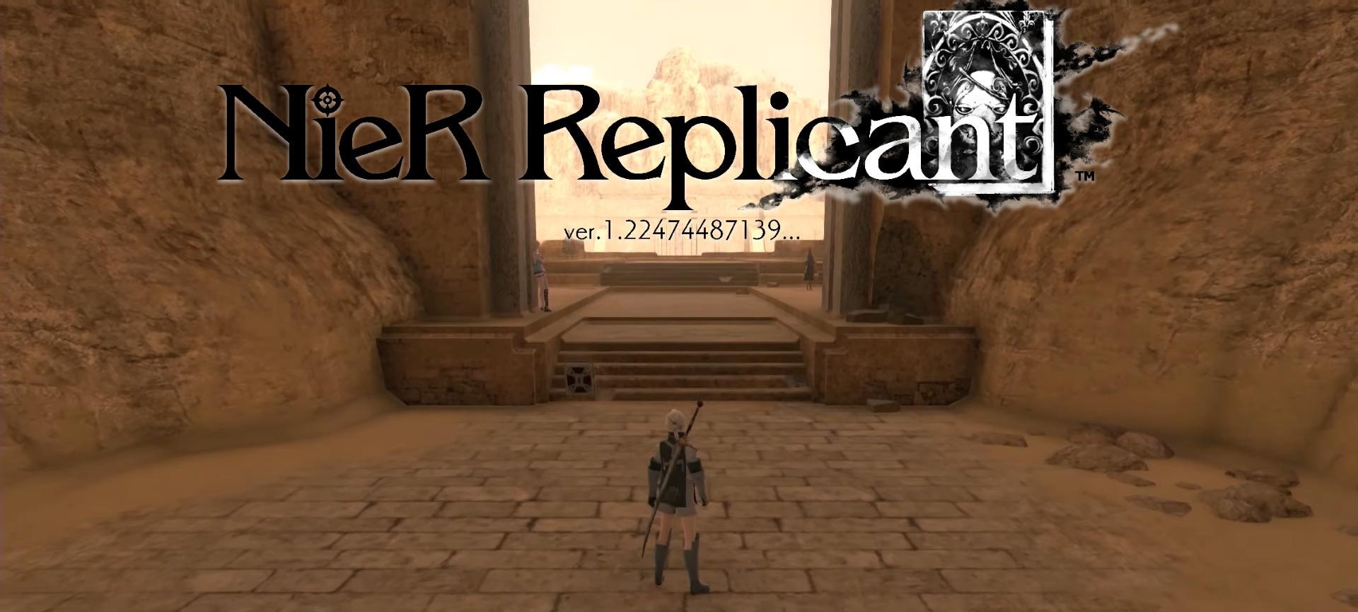 Barren Temple NieR Replicant