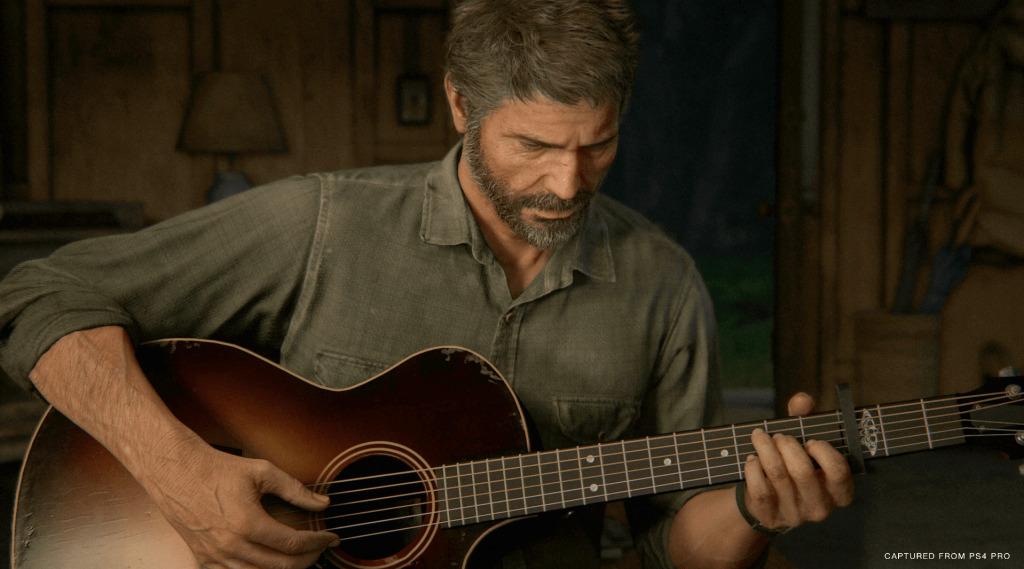 Joel Guitar TLOU