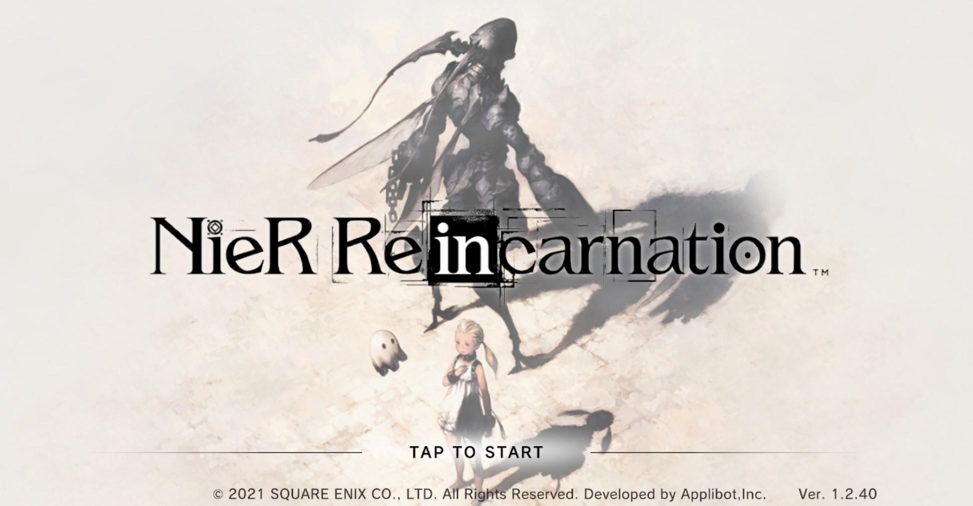 Nier Reincarnation Closed Beta prova CineWriting