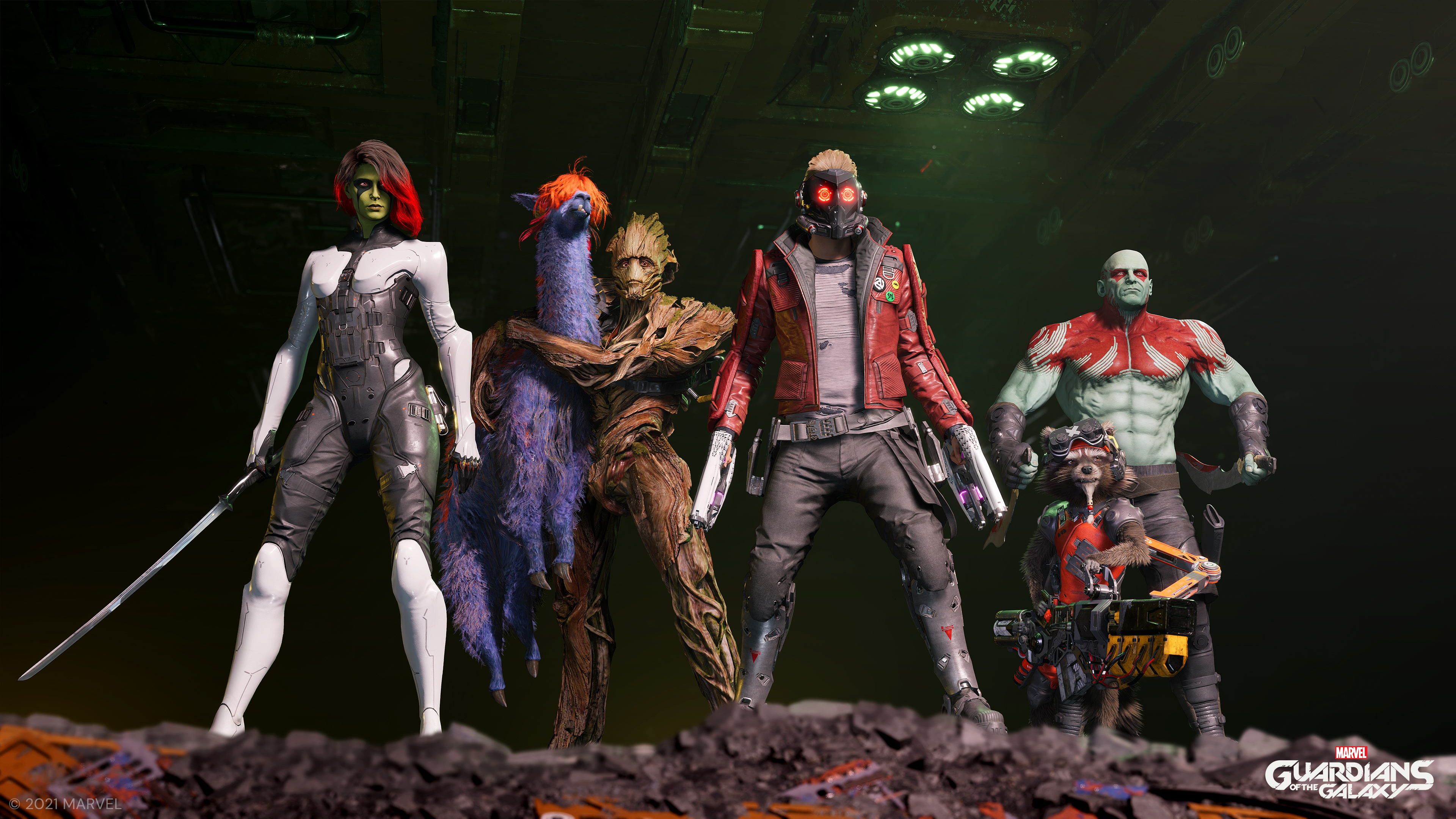 Guardians of the Galaxy Square Presents
